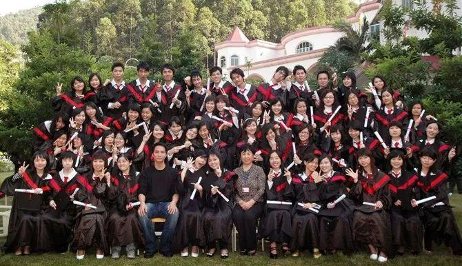 广州涉外学院会计班同学毕业10周年聚会